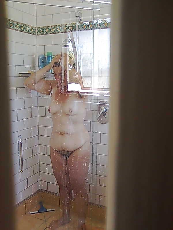 Spying my mom masturbating 6