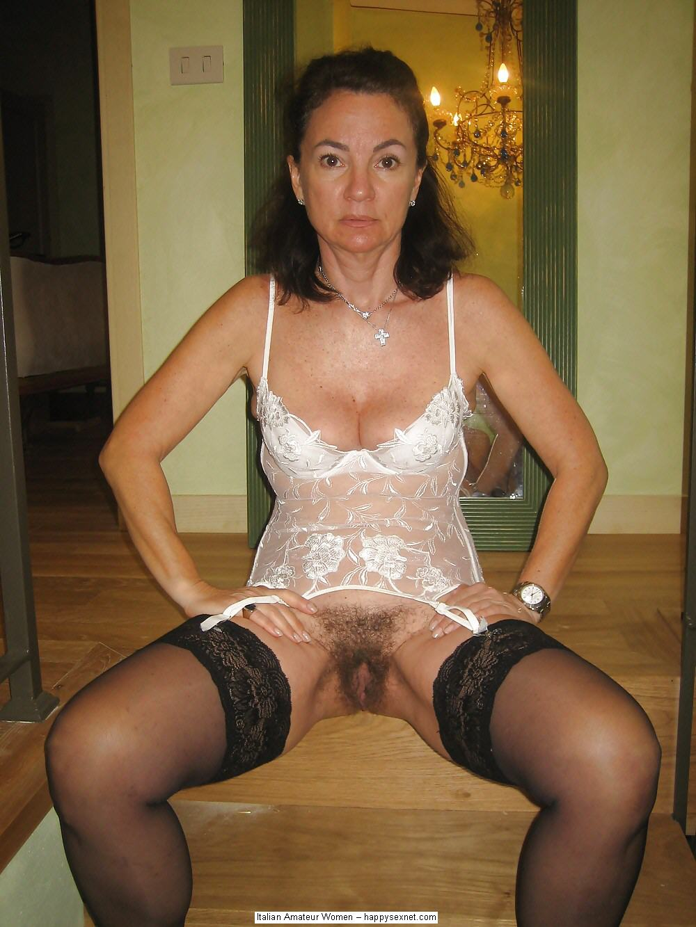 Amateur Mature White Trash