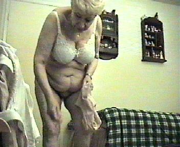 Through window i spied my mom masturbating at pc 7