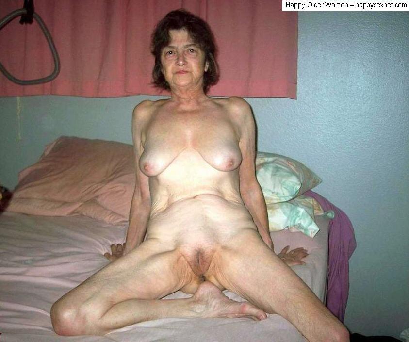Blonde short hair naked girl